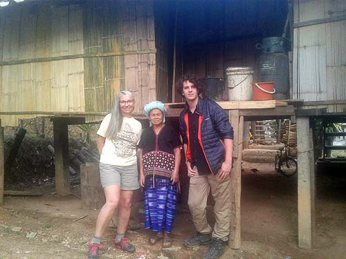 Karen hill tribe Mom