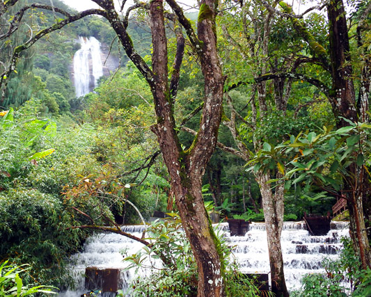 Siribhum waterfall Doi Inthanon national Park Thailand