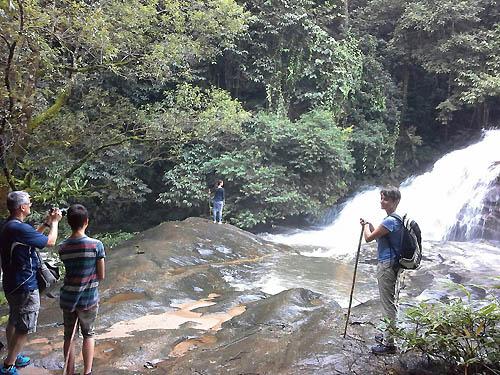 Trekking at Doi Inthanon National Park Thailand
