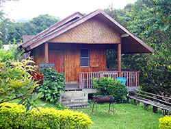 Bungalow at Doi Inthanon National Park Thailand