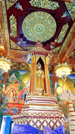 Inthakhin Pillar at Wat Chedi Luang