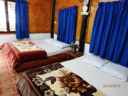 Stream side Bungalow room at Doi Inthanon National Park Thailand