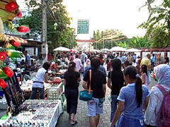 Chiang Mai Thailand's weekend Bazaar