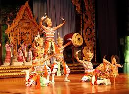 Thai Dancers at A Khantoke Dinner