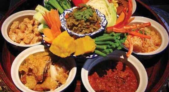 Khantoke Dinner Food