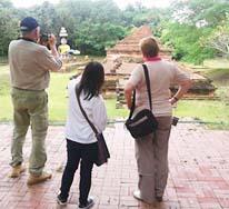 Buddha temple ruins at Wiang Kum Kam