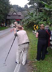 Birding checkpoint of Doi INthanon National Park Thailand