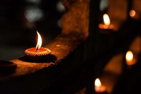 "Thai Clay Candles ""Phang Patit"""