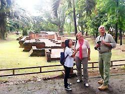 Ancient ruins at Wiang Kum Kam, Chiang Mai Thailand