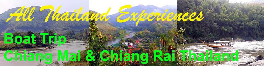 Boat trip Choiang Mai and Chiang Rai Thailand