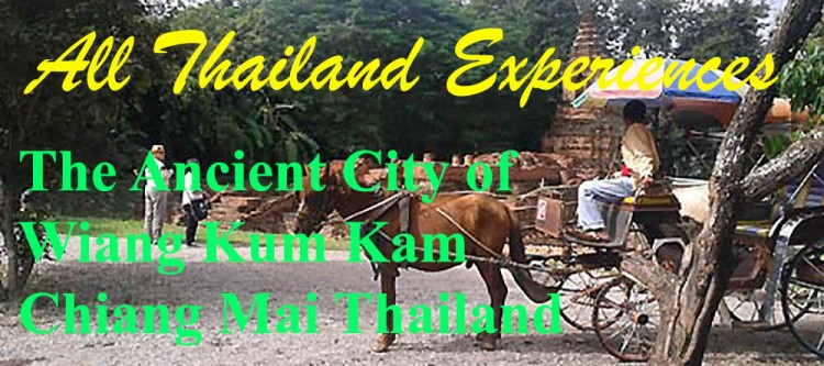 Chiang Mai Thailand's Ancient City of Wiang Kum Kam
