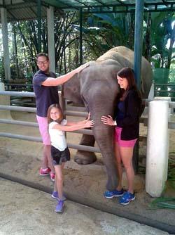 Julie Family elephant Ploy