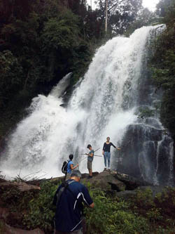 Doi Inthanon National Park Thailand waterfall
