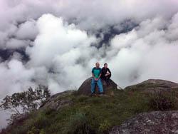 Mountain Top at Doi INthanon National Park Thailand